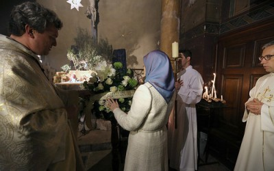 Maryam Rajavi's New Year and Christmas greetings