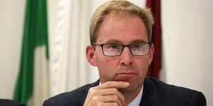 Foreign Office minister Tobias Ellwood MP