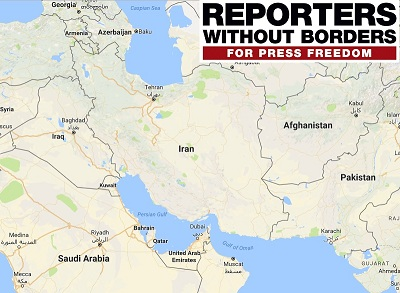 iran is ranked 165 amongst the 180 countries and remains one of the worlds five big prisons for media activists and ali