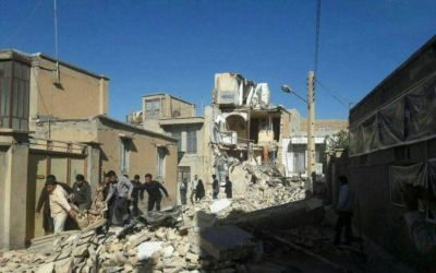 Devastating earthquake hits Iran-Iraq border