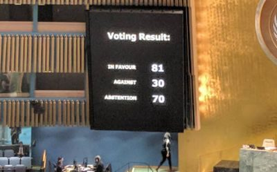 UN General Assembly adopts resolution against human rights abuses in Iran