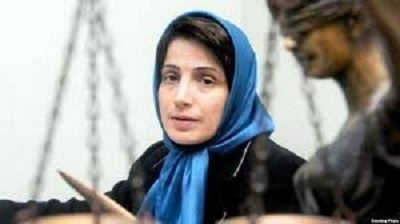 Amnesty International: Nasrin Sotoudeh a prominent Iranian human rights lawyer was arrested
