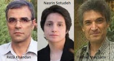 Reza Khandan Husband of Jailed Iranian Human Rights Lawyer, Nasrin Sotudeh, Gets Six Years Imprisonment
