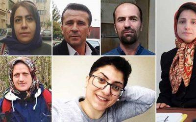 Iran Heavy Sentences for Civil Activists