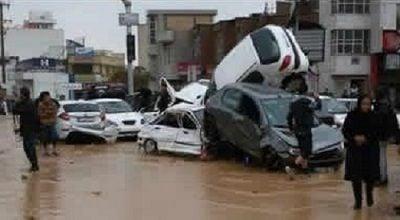 Flash Floods Cause Major Devastation In Iran