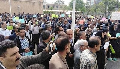 Iranian Teachers Arrested During Nationwide Teachers Day Rally