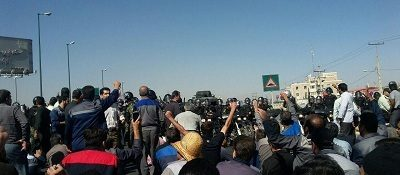 Iran: Attack & Arrest protesting AzarAb workers