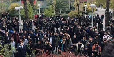 Iran: 10 universities' Students protest November crackdown