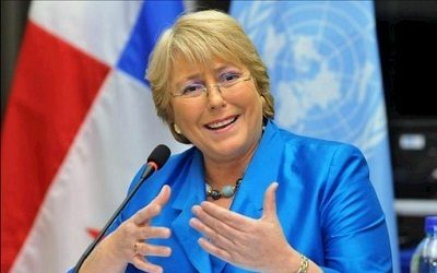 Statement by Michelle Bachelet, United Nations High Commissioner for Human Rights on Iran