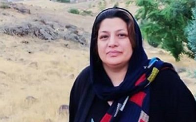 Fatemeh Davand, Protester, taken to jail to serve over 5 years Sentence