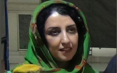 "Human rights advocate Narges Mohammadi: ""Iran, Killing to Silence the Voice of Protests"""