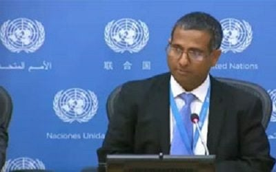 Ahmad Shahid: The Research and Interviews Provide a Deeply Disturbing Picture of The Human Rights Situation in Iran