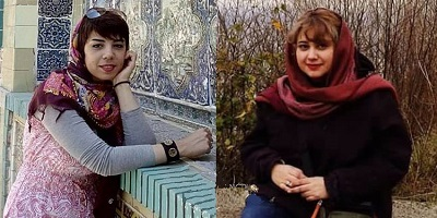 Afsaneh Azimzadeh, Children's Rights Activist and Shohreh Hosseini, Civil Activist Arrested