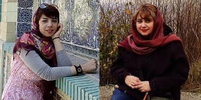 Afsaneh Azimzadeh, Children's Rights Activist and Shohreh Hosseini, Civil Activist Arrested