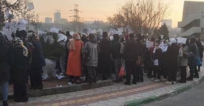 Iran: Protests by Nurses of Milad Hospital demand unpaid salaries